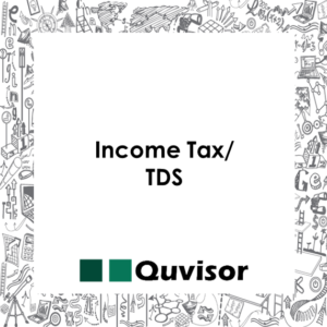 Income tax/TDS